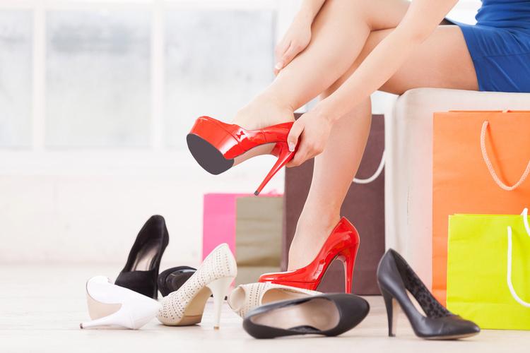 cipő próba