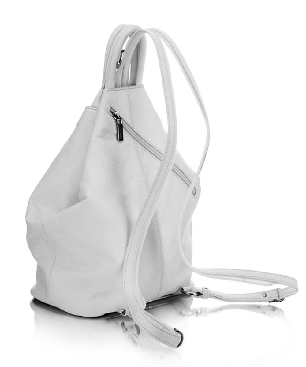 Világos bőr női hátizsák Koszosfehér bőrhátizsák és kézitáska Többfunkciós  bőrhátizsák Törtfehér bőr hátizsák válltáska Fehér női bőrhátizsák ... 27ccaf5af3