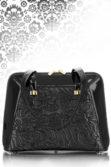 Női fekete alkalmi táska