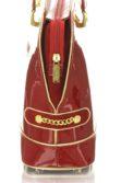 Ferraripiros női lakkbőr táska
