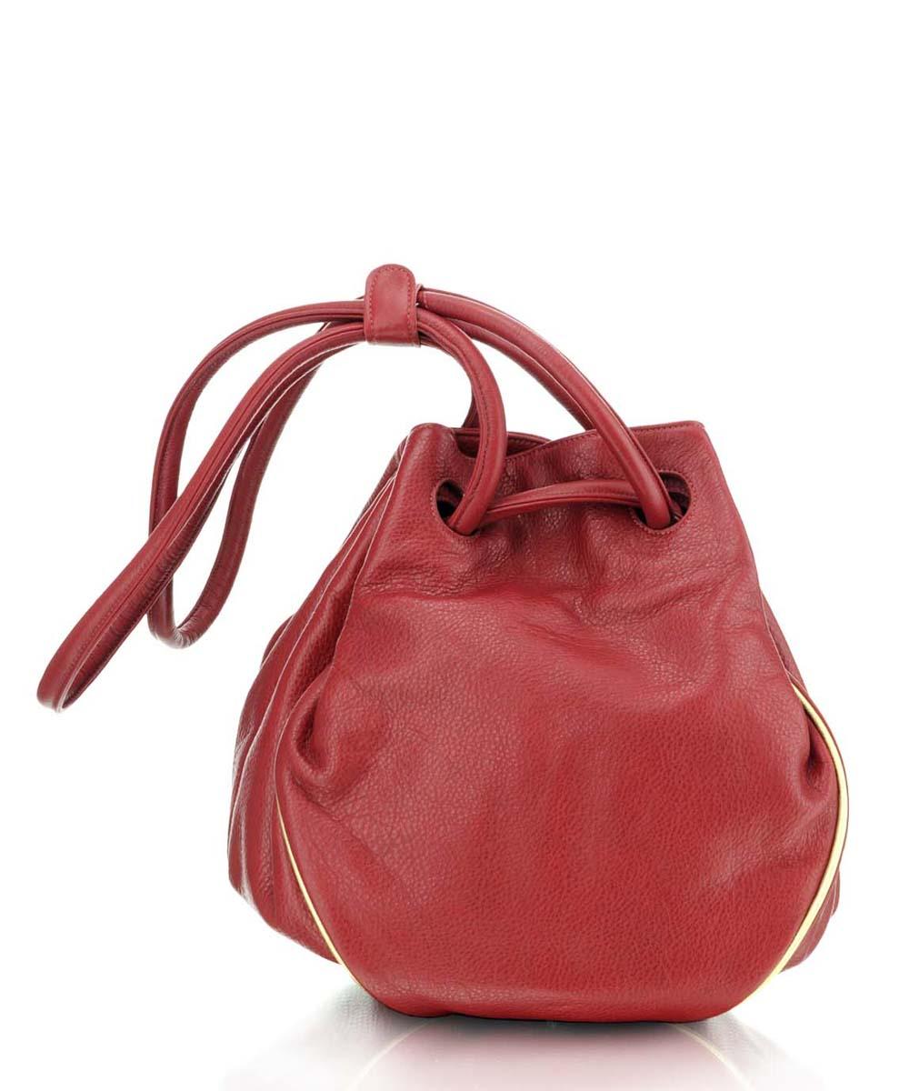 ... Piros bőr női táska ... 52011f842d