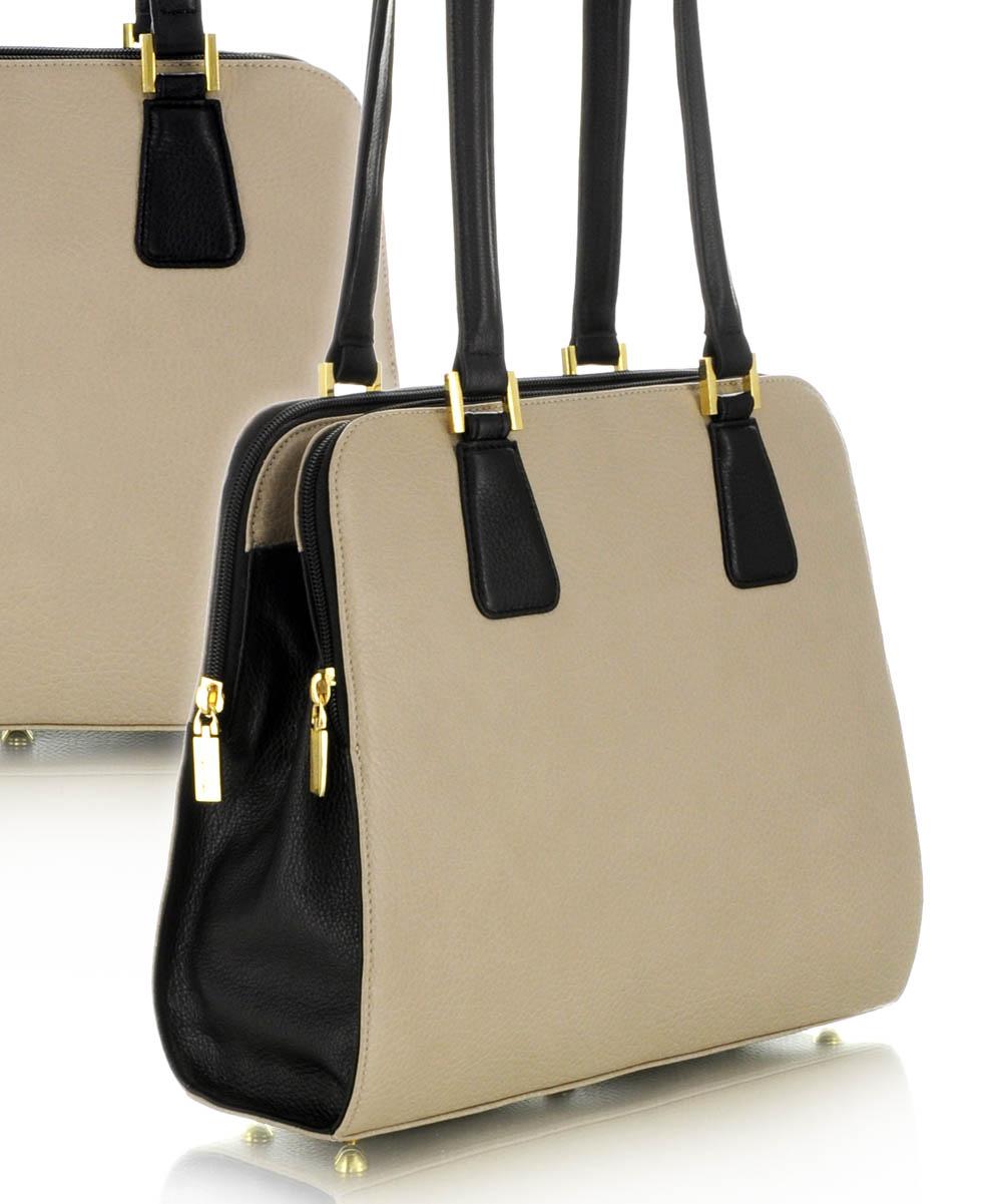 ... Praktikusan sokzsebes női bőrtáska sokzsebes táska dabd417d0b