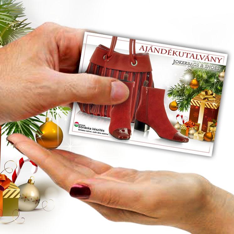 Bőrtáska ajándékutalvány karácsonyra